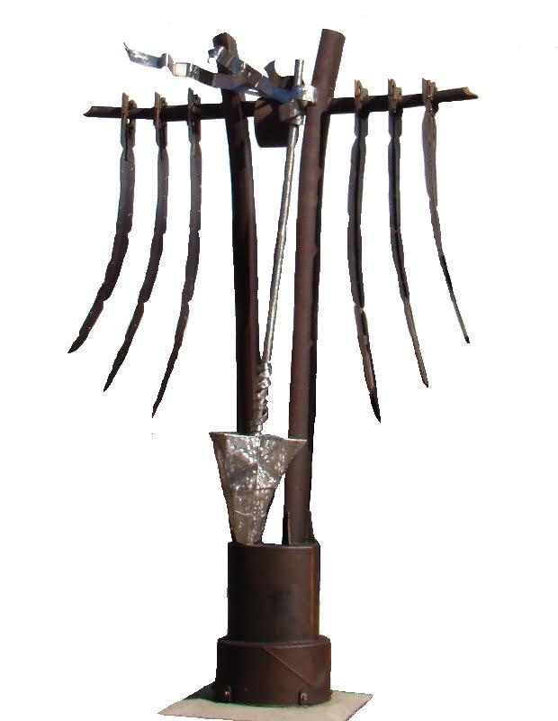 Peace Totem by Jesse Swickard - Winner of 2018 People's Voice